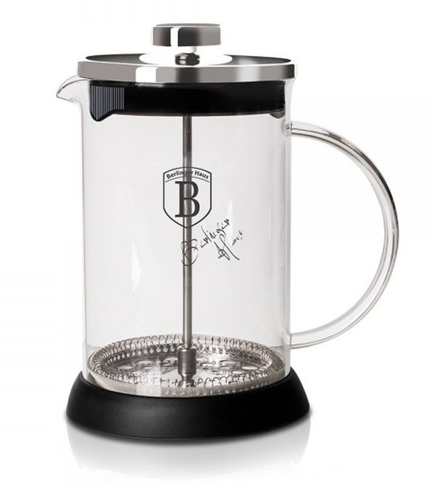 konvice 0,35l CHROM, COFFEE MAKER, sklo+plast