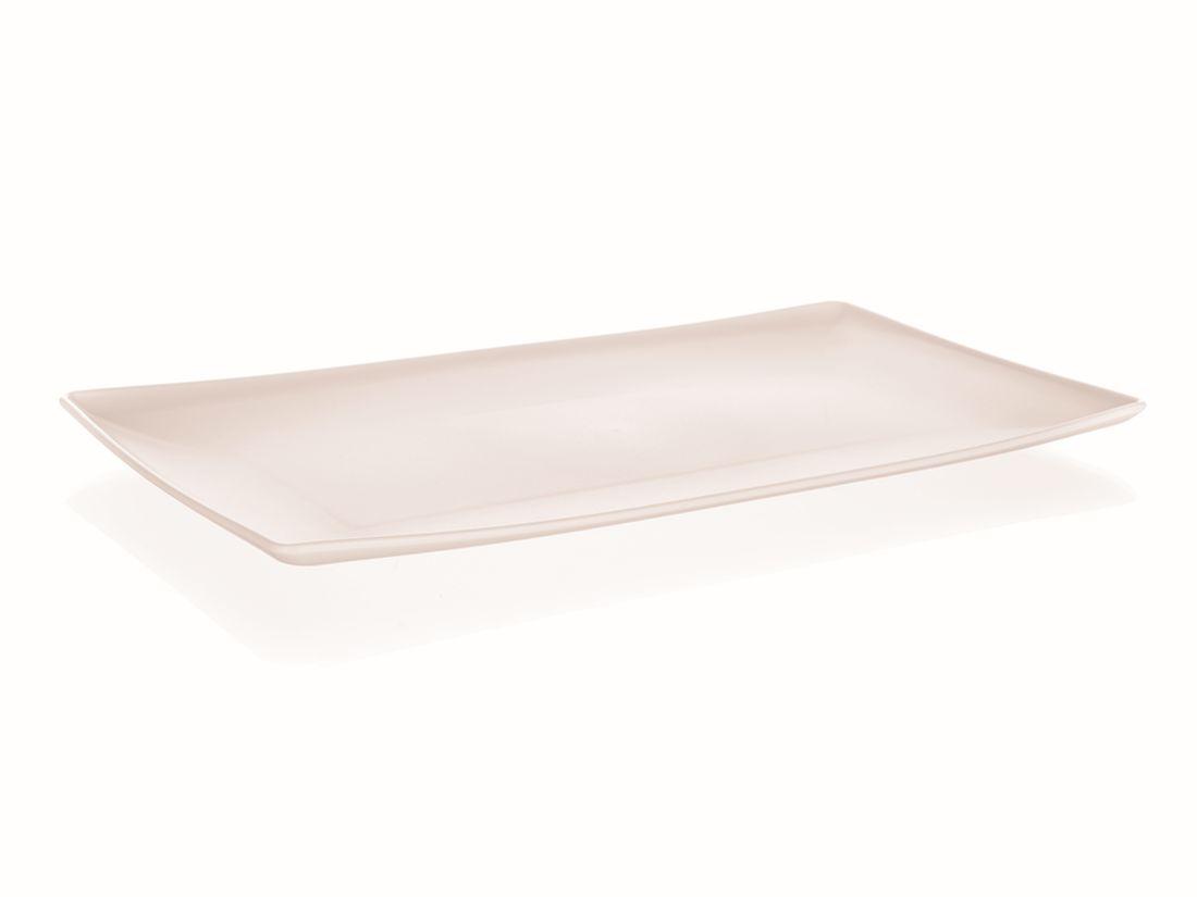 podnos 33x18x2cm AMIENS, krém.pevný plast