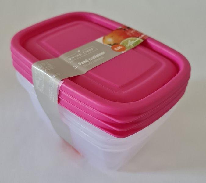 box-sada 3ks, 0,95l HAPPY COL., mix, plast