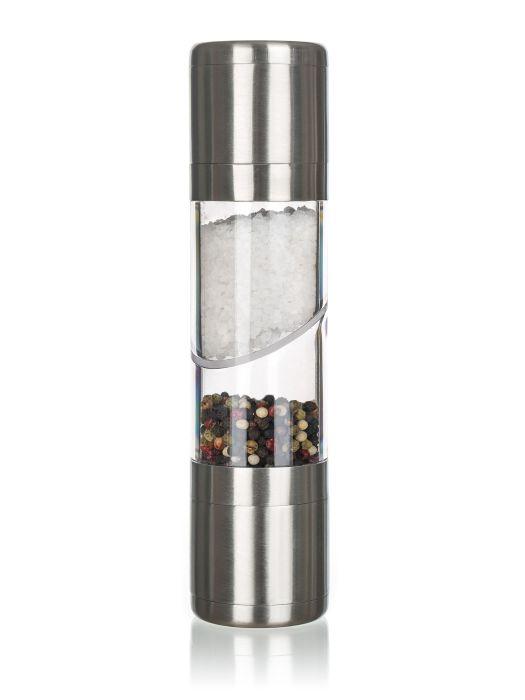 mlýnek ALEGRIA 21,8cm, 2v1 P/S, NR/akryl, ker.strojek