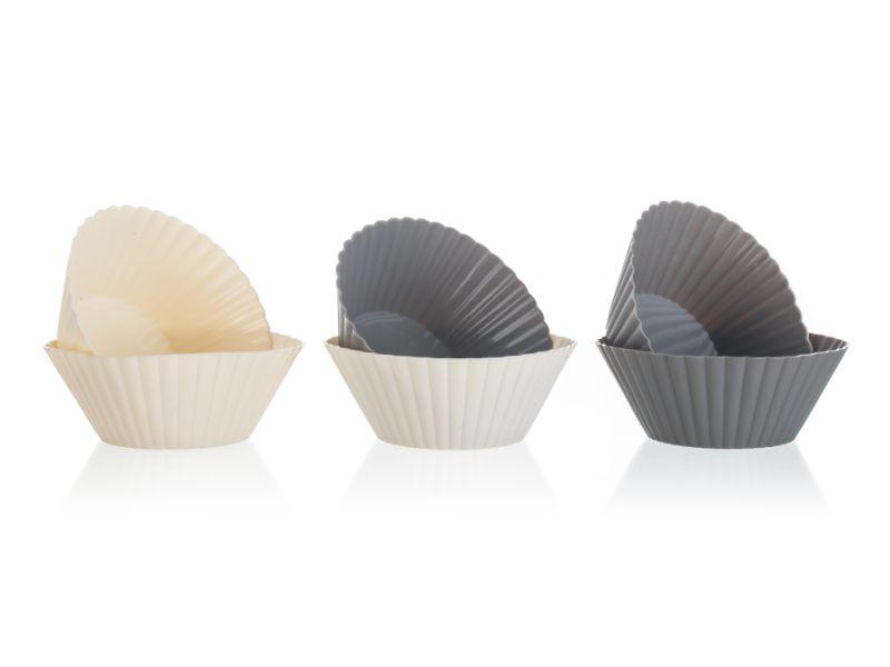 form. 6ks d7,5cm, ALEGRIA, mix barev, silikon