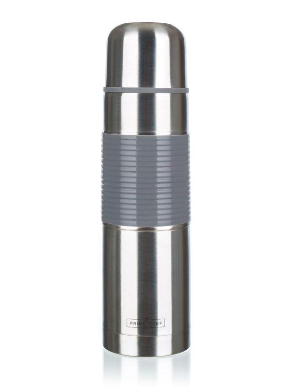 termoska 1,0l NR ALEGRIA, šedý pruh