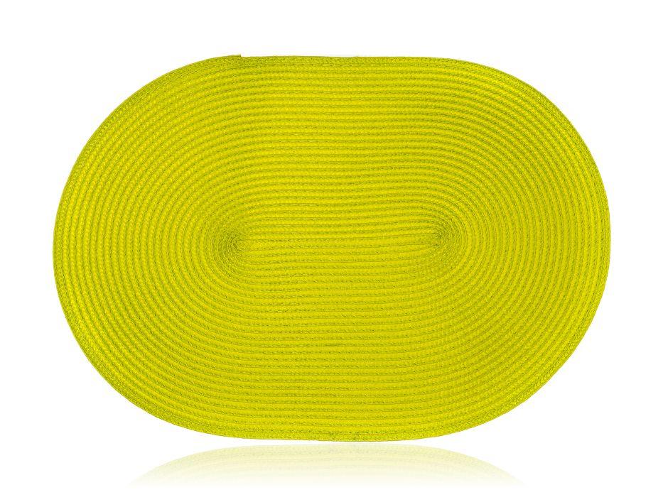 prostírání 45x30cm ovál MADEIRA zelené