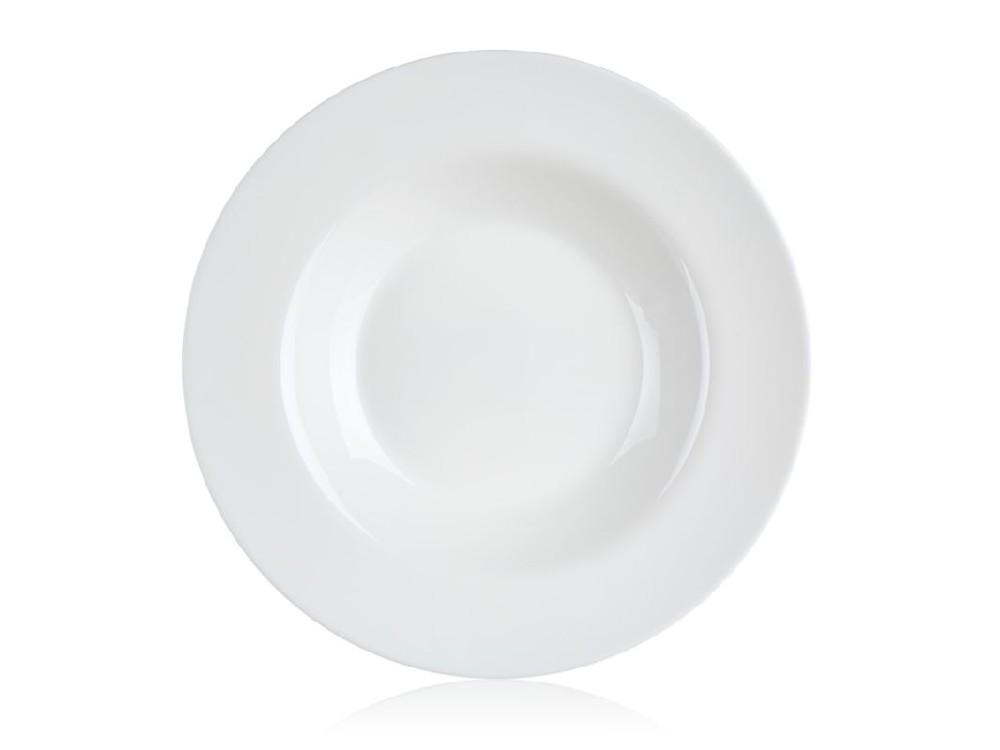 talíř d28,5cm na těstoviny, FRIENDS, tvrz.sklo