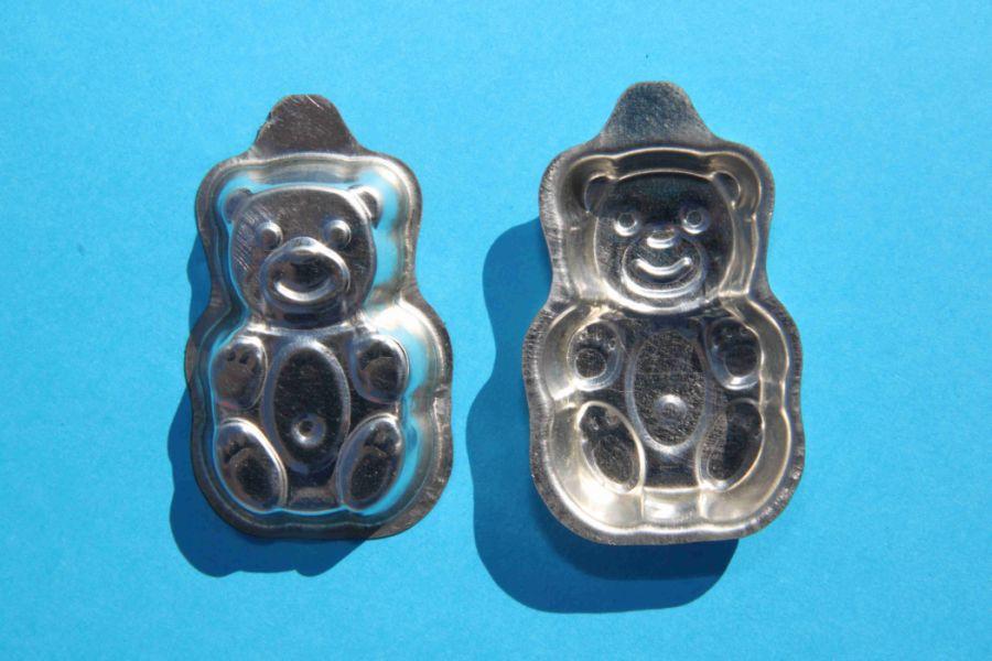 form.medvídek 20ks 6x4x0,8cm