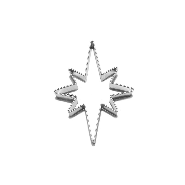 vykr.408-hvězda 8 cípů 8cm