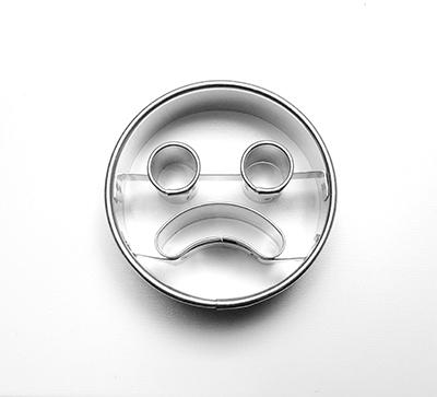 vykr.966-smajlík smutný 5cm