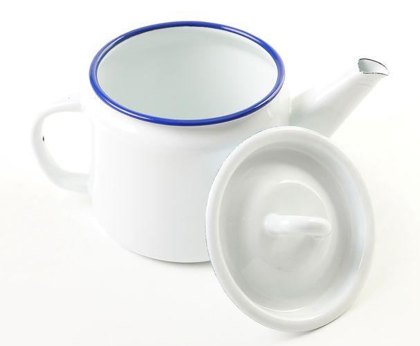 čajník 1,0l+pokl.OLYMP RETRO, smalt