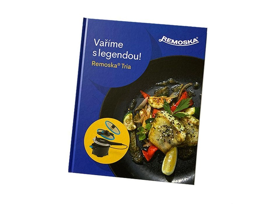 kuchařka Vaříme s legendou - Remoska Tria-K5