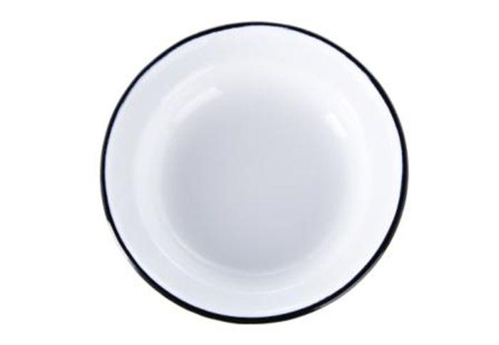 talíř d22cm hluboký, smalt
