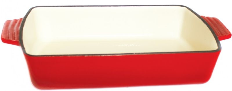 pekáč 32,5x22,5x7,0cm, hran. M32,QUEEN LINE (3,7l),LITINA