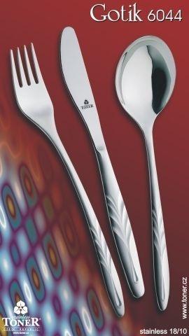nůž 6044 GOTIK jídelní, NR
