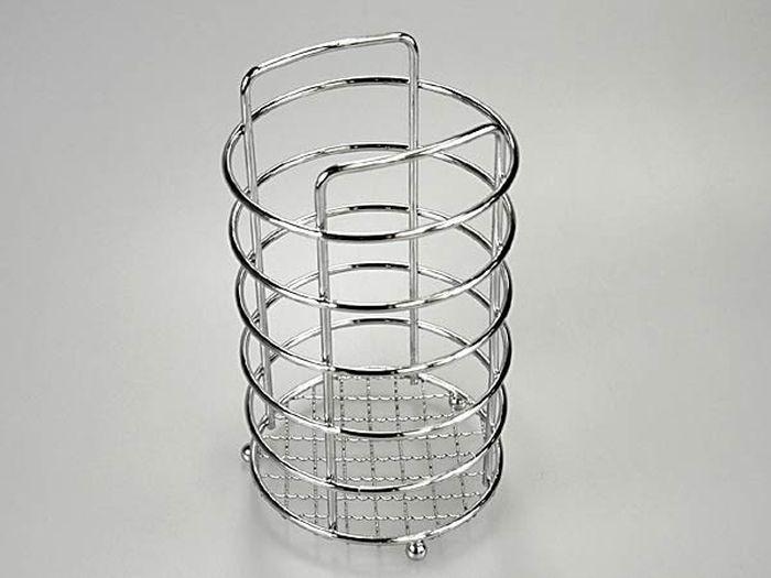 odkapávač příborů-stojan- d11x20cm,chrom