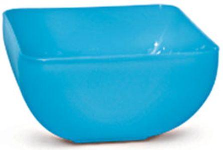 miska 0,6l SQUARE, MIX barev, plast