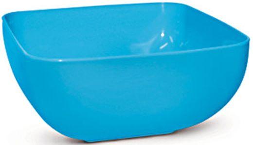mísa 2,5l SQUARE, MIX barev, plast