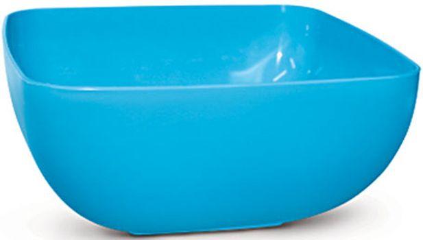 mísa 4,0l SQUARE, MIX barev, plast