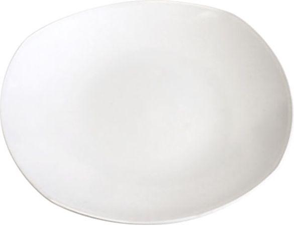 talíř d27cm, bílý melamin