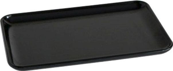 podnos 15x10cm, černý melamin