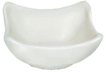 miska  50ml DIP čtverc.8x8cm, bílý melamin