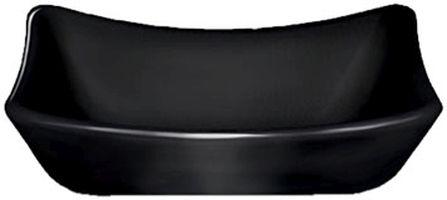 miska  50ml DIP obd.9x6cm, černý melamin