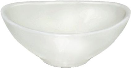 miska  50ml DIP ovál 9x6cm, bílý melamin