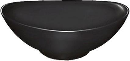 miska  50ml DIP ovál 9x6cm, černý melamin
