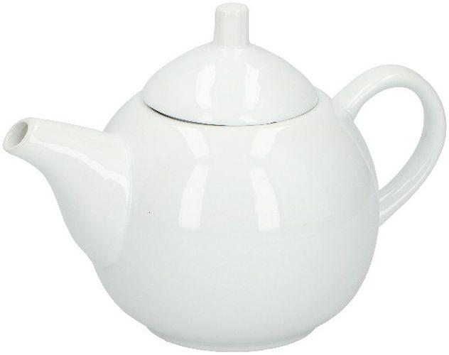 konvice 1,0l ALPINA, bílý porcelán