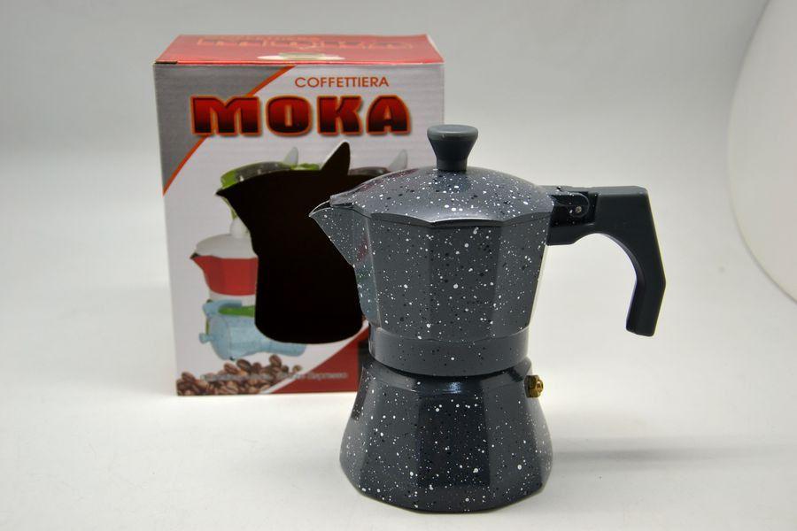 kávovar ESPRESSO, 3porcový, šedý Al