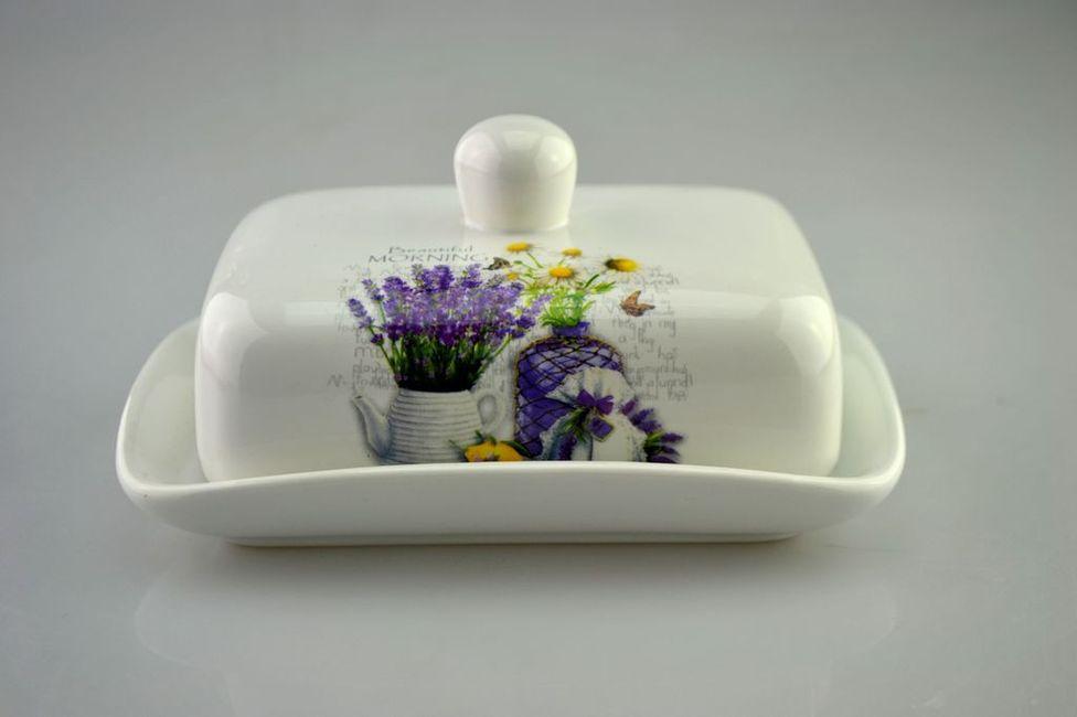 máslenka s víčkem, Levand. nádh.jaro,keramika