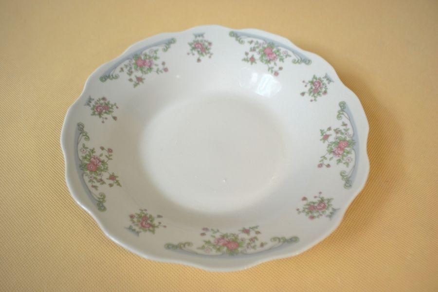 talíř d23cm hlub., PRIMROSE, hl.4,8cm, porcelán