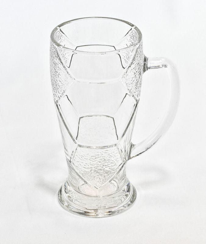 sklen. 500ml, 2ks, FOTBAL, bez cejchu-pivo