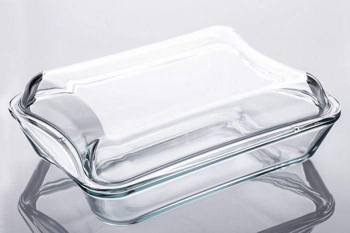 mísa 2,5 l hran.EXCL.+1,9l víko,320x250x112mm,var.sklo,zapék.