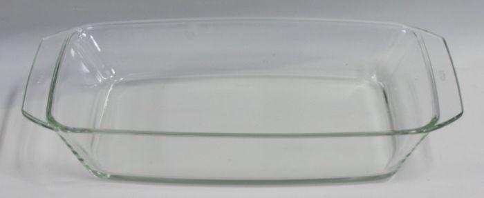 mísa 2,4 l hran.35x19,5x5,6cm,var.sklo,zapék.