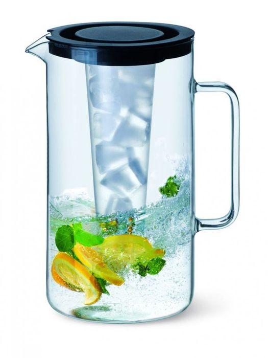 džbán 2,0l s chlad.vložkou sklo