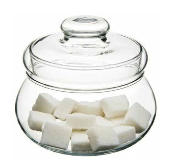 cukřenka sklo+víčko (0,5l)