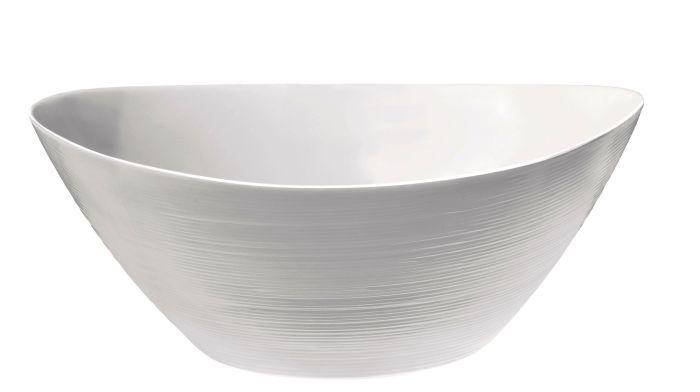 mísa 2,5l PROMETEO, 25/24cm,salát.  opál.sklo
