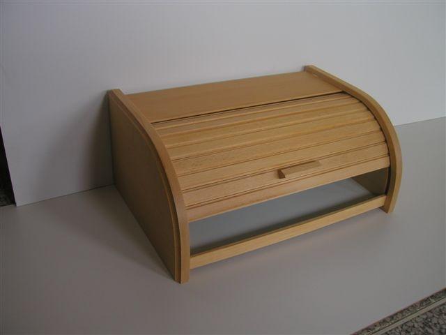 chlebovka 38x28x18cm,světlá, dřevěná