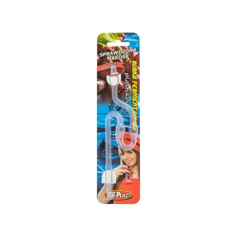 zátka-rourka kvas. 18,5cm, plast