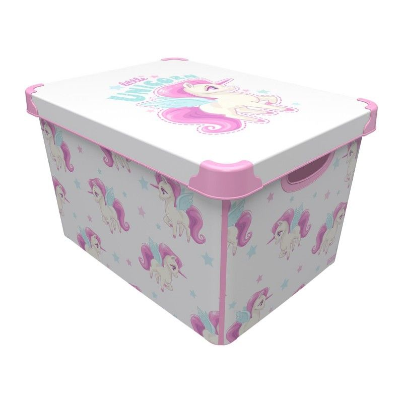 box 22,0l JEDNOROŽEC 39x29x23cm, dětský, plast
