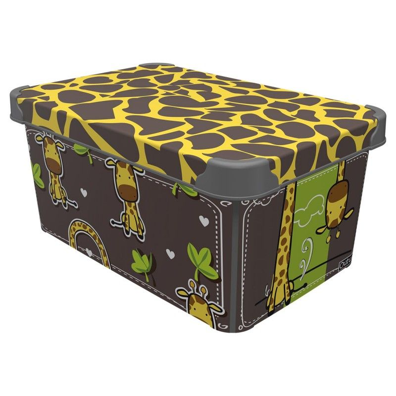 box 22,0l ŽIRAFA 39x29x23cm, dětský, plast