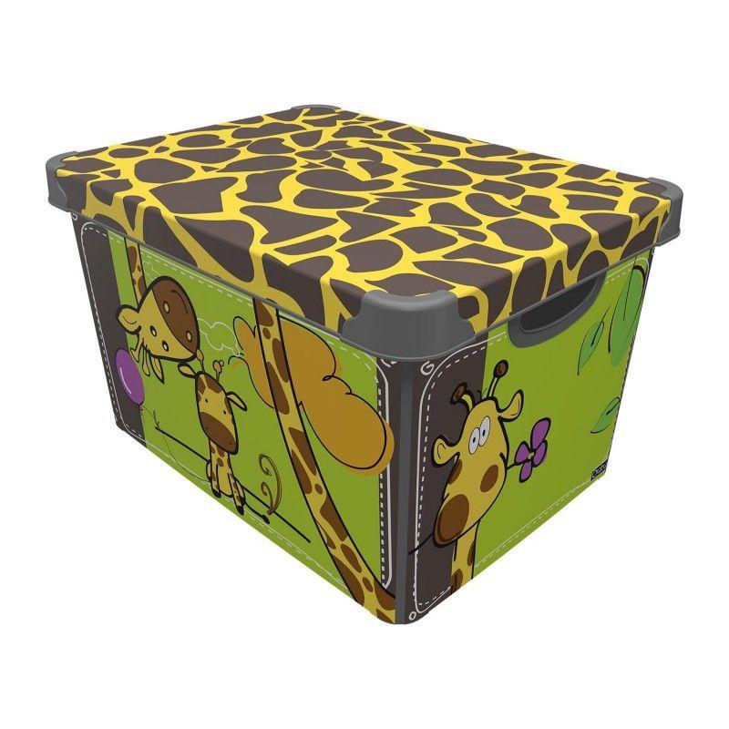 box 10,0l ŽIRAFA 34,5x23x16cm, dětský, plast