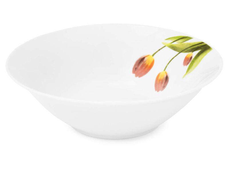 miska d18cm TULIPÁNY, keramika