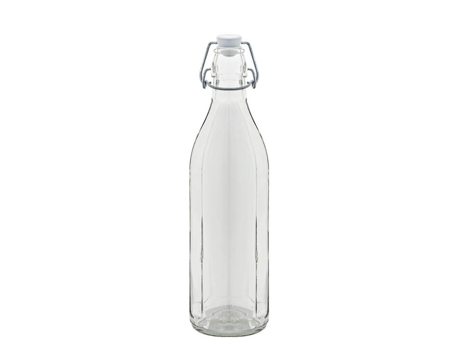 láhev 0,75l hranatá, patent.uz., sklo