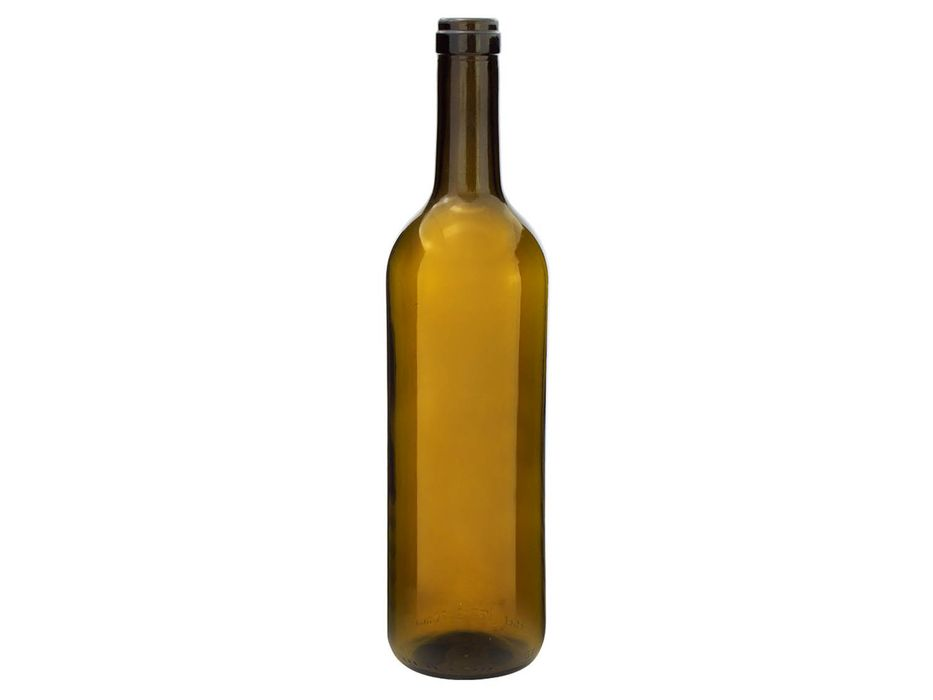 láhev 0,75l- 8ks Bordolese, víno, hnědé sklo