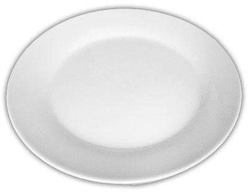 talíř d19cm dezertní, bílý porcelán