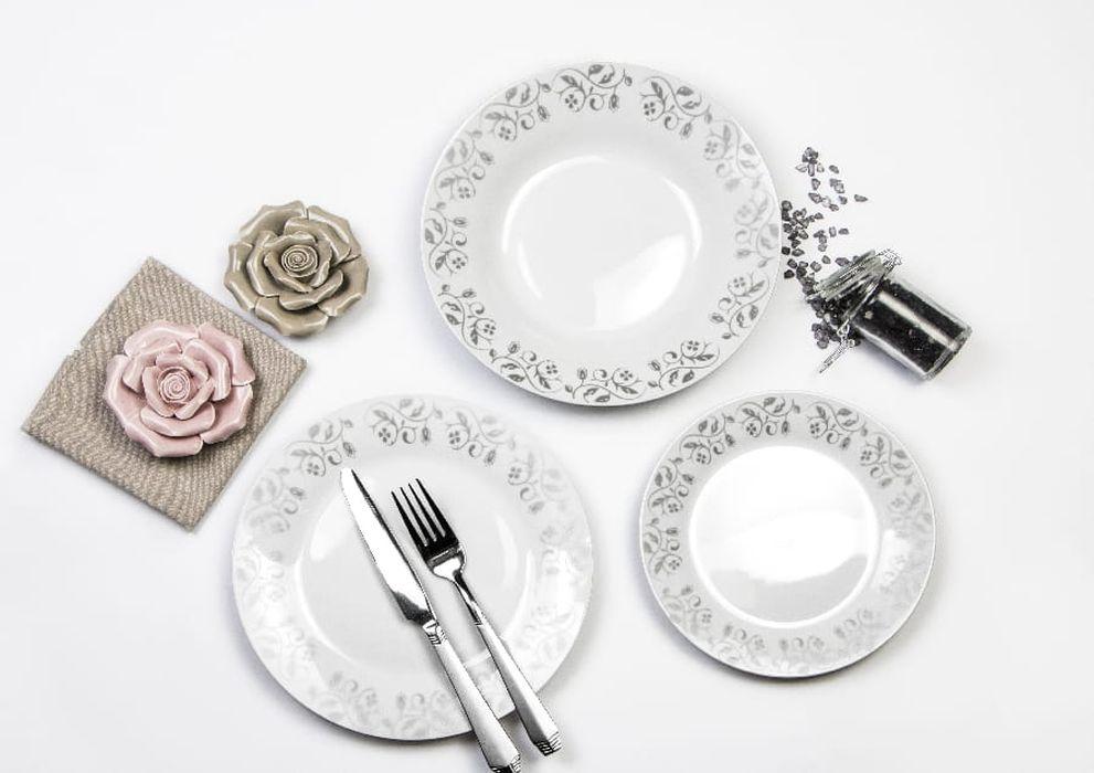 soupr.18díl.jídelní WENUS dec.131 orient, metal.,porc.