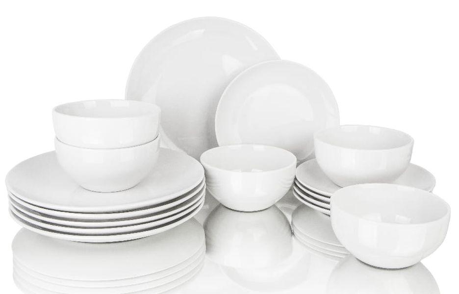 soupr.18díl.jídelní MANHATTAN, bílý. porc.