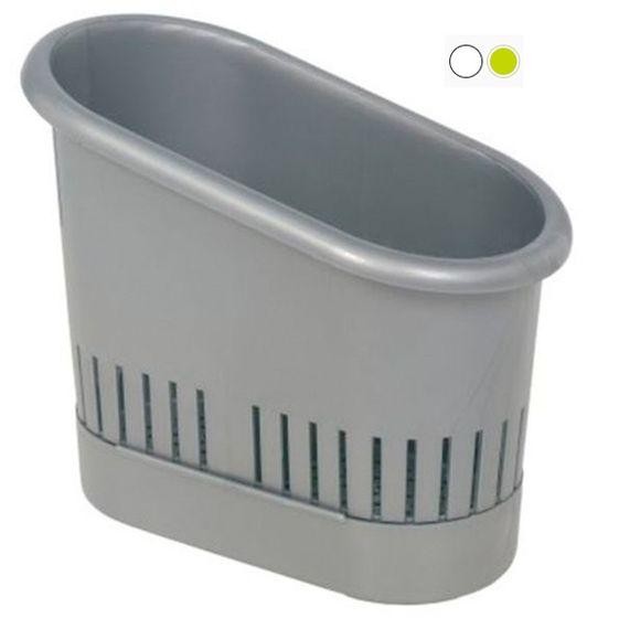 odkapávač příborů.9,5x18x14,5-stříbrný
