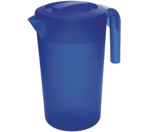džbán 2,0l kulatý BÍLÝ, plast