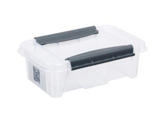 box  3,0l 290x195x 98mm, klipsy, plast